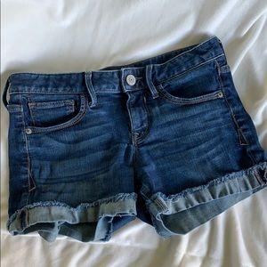 Express denim shorts 💕
